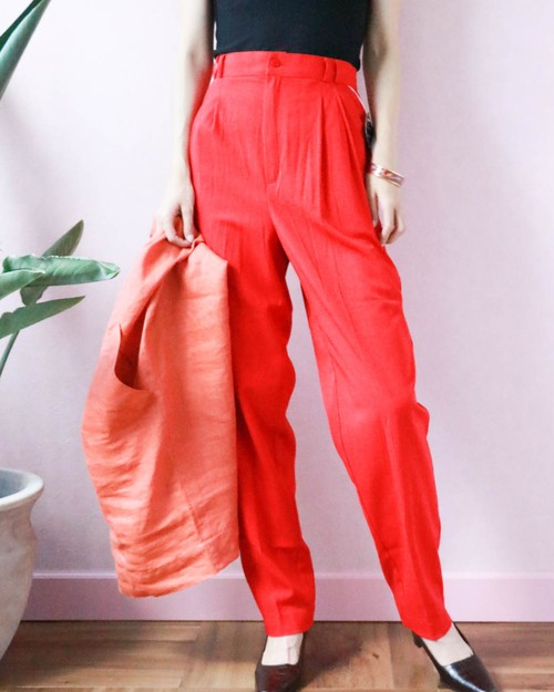dead stock red pants