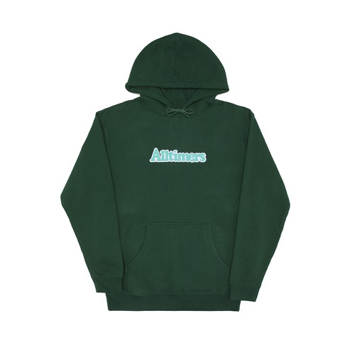 ALLTIMERS (オールタイマーズ) / BROADWAY HOODY -DARK GREEN-