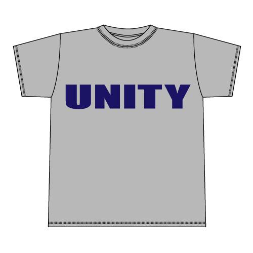 UNITY T-Shirt (復刻版)  [MIX GRAY x NAVY][1404]