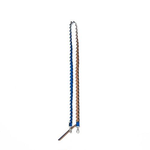ajew    Design color shoulder  Blue×Beige