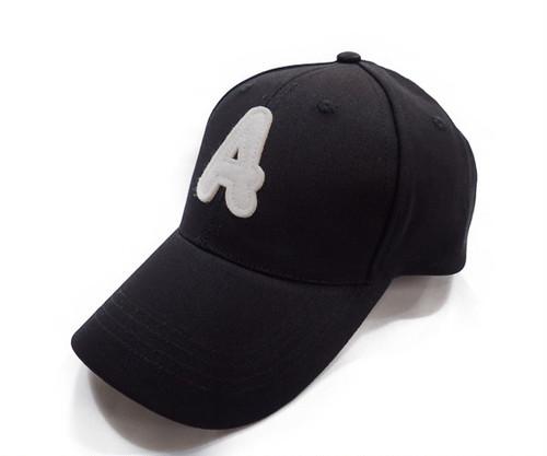 アルファベットワッペンCAP[H-042 BLACK]