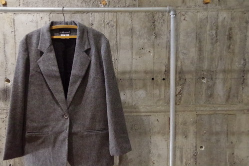 Wool tailored jkt(USED)