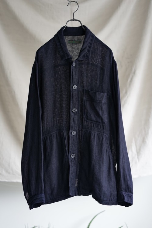 <SOLDOUT>Casey Vidalenc - Linen Coverall Jacket