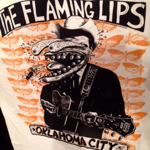 Vintage 90s THE FLAMING LIPS Tee