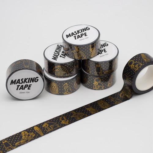 マスキングテープ 「エジプトの神々とファラオ」幅20mm×10m