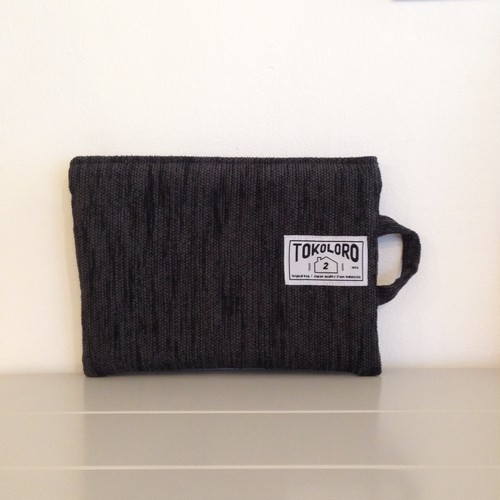 Sofa Cushion Pouch 【charcoal】