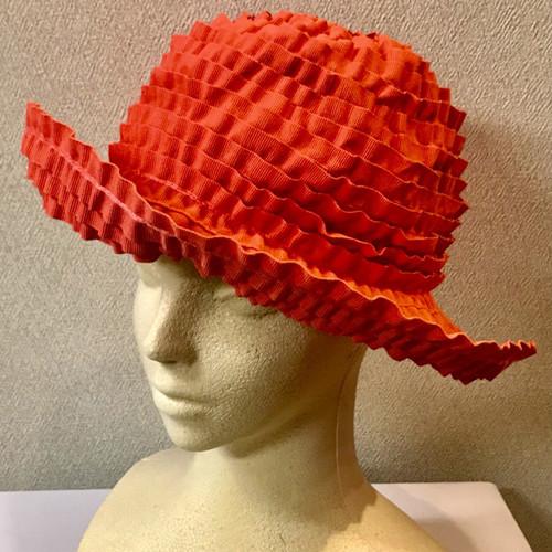 Item011 ブレードハット コーラル 帽子 レディース