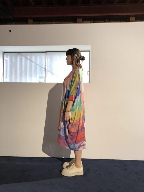 【20AW】HENRIK VIBSKOV / Multi pattern Dress
