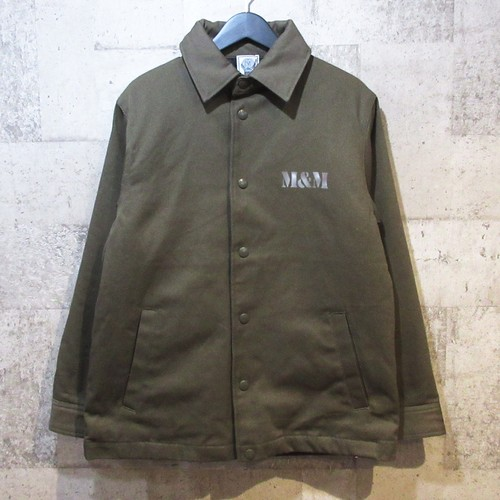 M&M 16AW TWILL QUILTING JACKET