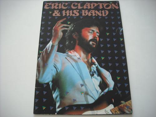 【パンフレット】ERIC CLAPTON / 1979 JAPAN TOUR