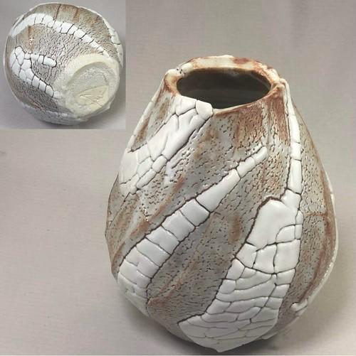 東正之志野花瓶W6960