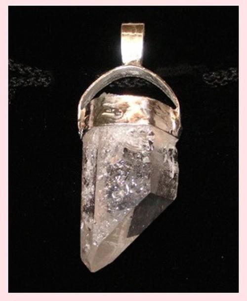 ヒーラーズペンダント(特別なパワーを持つ浄化の出来る水晶) パワーストーン