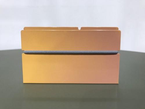 カードケース SC-11 陽射しにさらされた砂丘の風紋の色