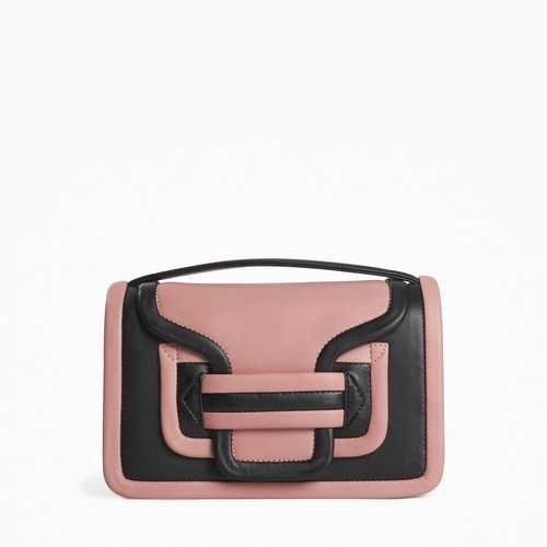 PIERRE HARDY  ALPHA BAG   BLACK-BLUSH