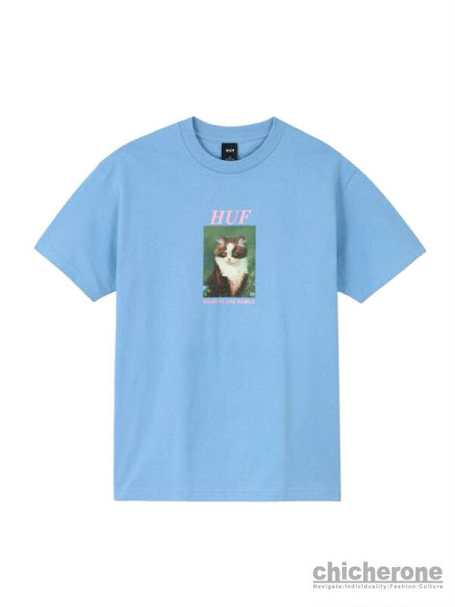 【HUF】LOST S/S TEE S.BLUE
