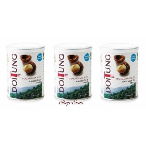ドイトン マカダミアナッツ 海苔味/Doitung Macadamia Nuts Seaweed Flavour 150g×3缶