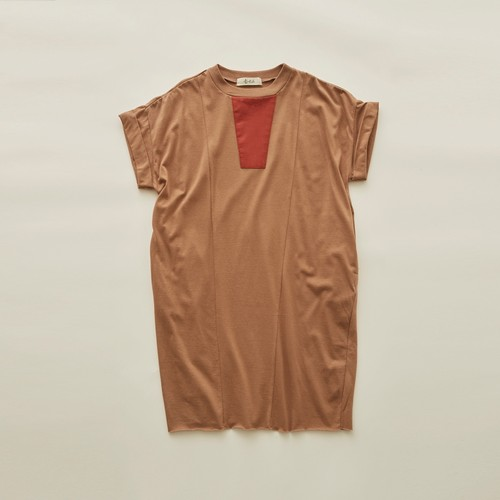 《eLfinFolk 2020SS》Maghreb maxi T / cocoa / 110-130cm