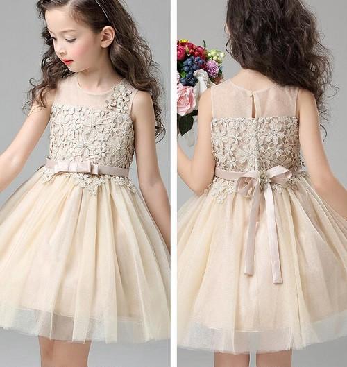 8459子供ドレス キッズドレス ベビードレス チュールドレス ジュニア 女の子ドレス フォーマルドレス レースワンピース100cm-150cm
