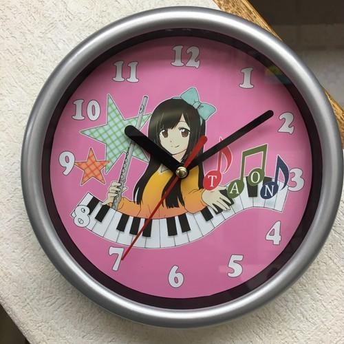TAON(タオン)オリジナル時計 ピンク
