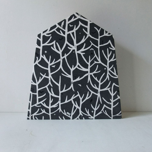 Fabric Panel / Branch / black
