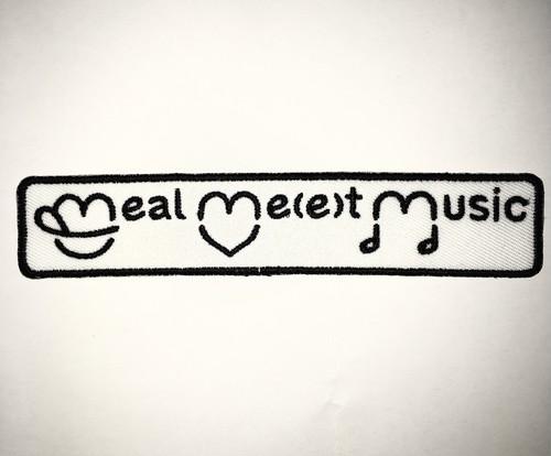 meal me(e)t music のワッペン