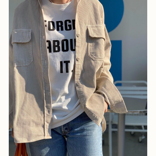 【 flamingo firm 】コーデュロイシャツ