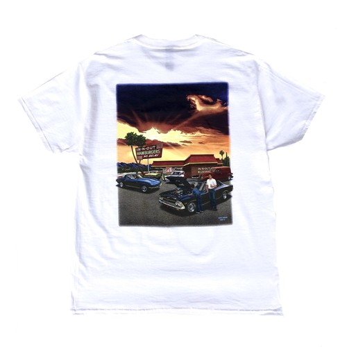 IN-N-OUT BURGER 2005 MEMORY TEE - white