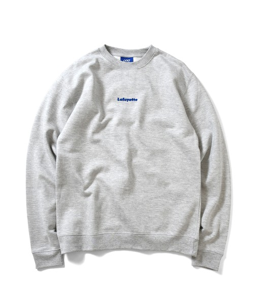 LFYT SMALL LOGO CREWNECK SWEATSHIRT / HEATHER GRAY