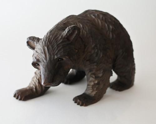 木彫りの熊/這い熊