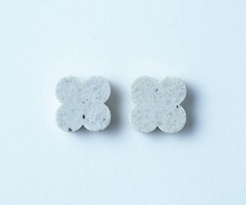 tile - flower / pierce or earring