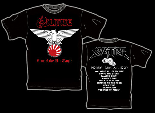 "SOLITUDE ""Brave The Storm"" ツアー限定Tシャツ(2)"