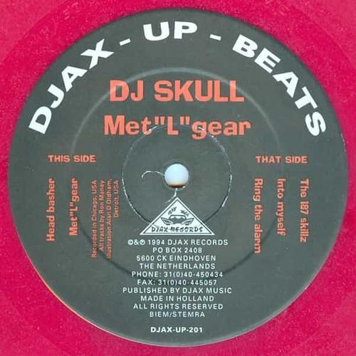 DJ SKULL / Met''L''gear (12 inch)