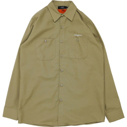 Chevy L/S Work Shirt (Khaki)