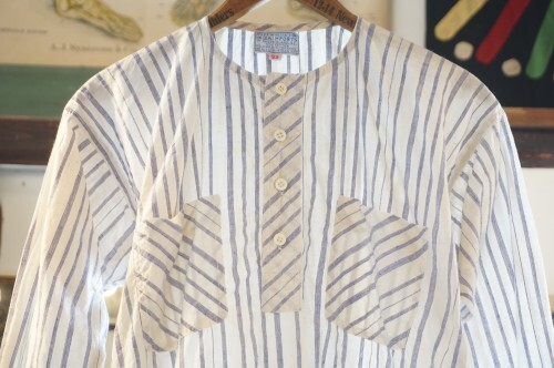 70's Indian cotton pullover Shirt