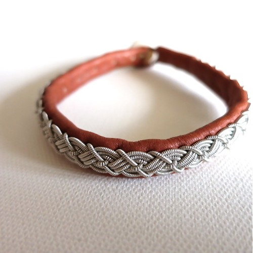 MONICA JOHANSSON/BRACELETS FOR MEN-BROWN