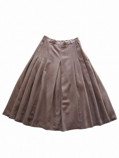 【西ドイツ】 ロングプリーツスカート