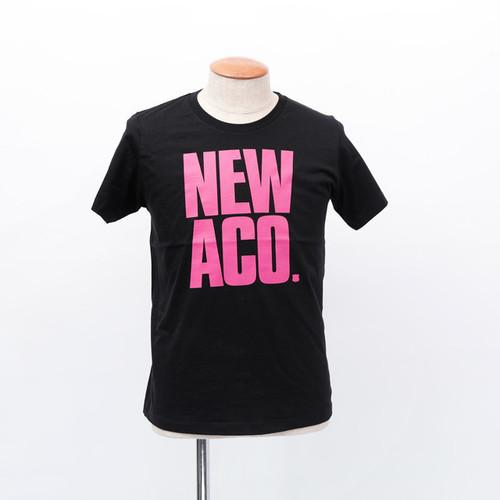 NAC18 NEWACO tee / BLACK×PINK