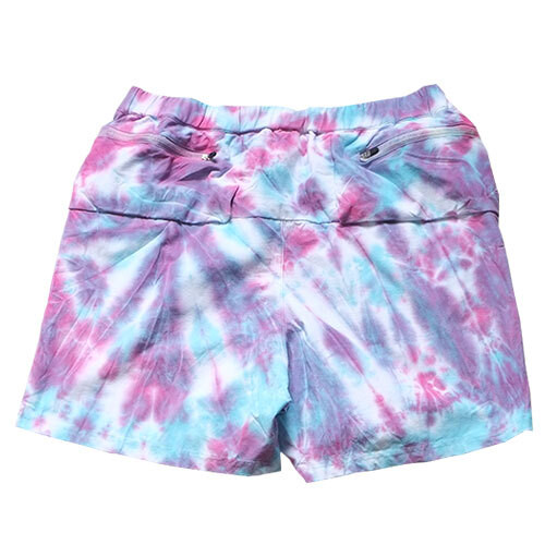 ranor / TIE DYEING MIDDLE SHORTS