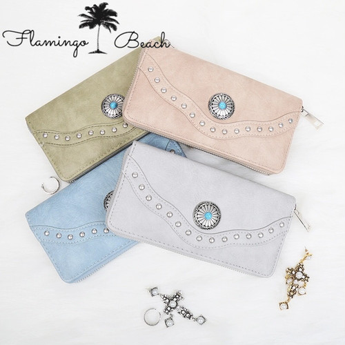 【FlamingoBeach】boho wallet 2
