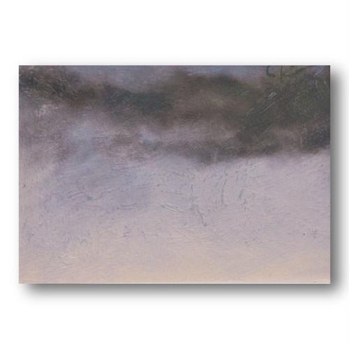 【送料無料】絵画作品タイトル「冬の空」額装済み 購入後すぐに飾れるpaintings, fine art