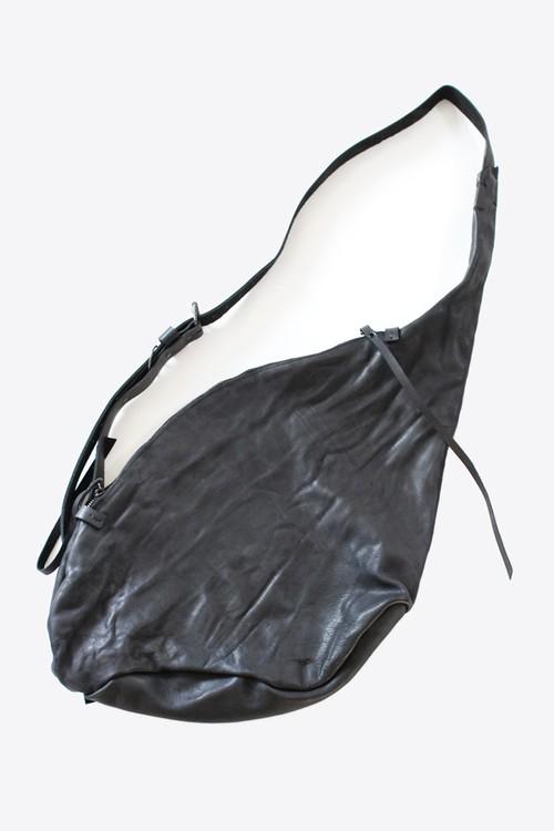 ウォッシュ加工された表情深いレザーショルダーバッグ【Ytn №7】Unisex Washed Leather Shoulder Bag