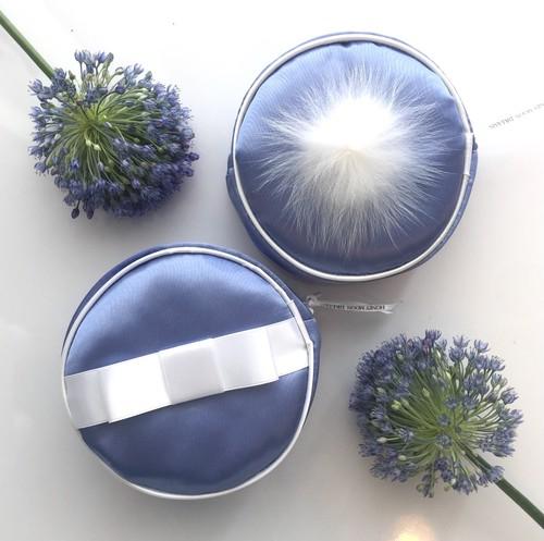 Cinderella puff porch 【royal blue】