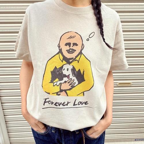 「Forever Love」Tシャツ(ベージュ)