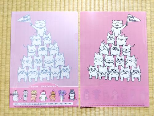 Cafe Gattoオリジナル クリアファイル ピラミッド