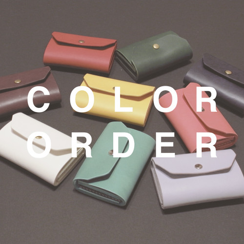 compact wallet 【color order】