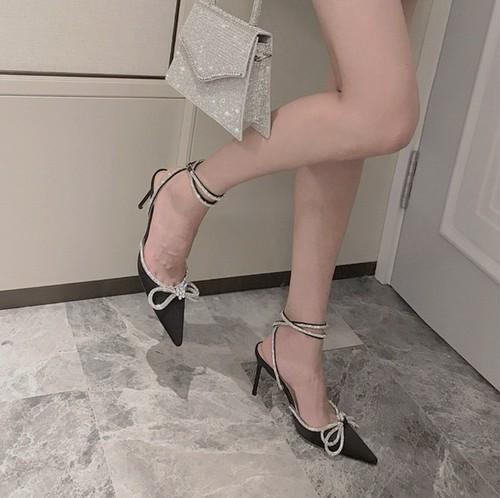 kirakira ribbon shoes