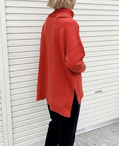 《ご予約品》10月下旬納期【 siro de labonte 】- R153105 - angora blend HIGHNECK P/O¥18480