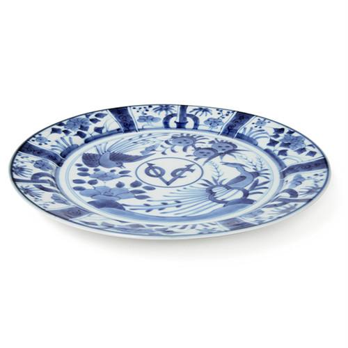 芙蓉手VOC段付9寸丸皿