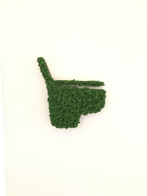 トイレサインUrinal Green