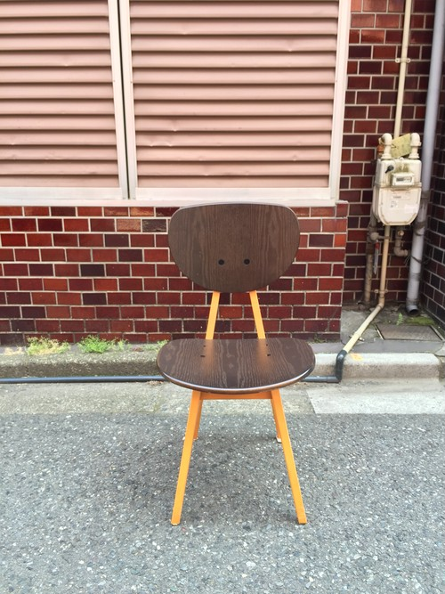 【 idee 】「DINING CHAIR」design - 長大作 (DCブラウン)